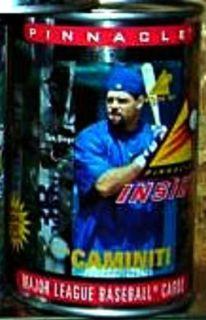 RARE Brand New Ken Caminiti 1997 Pinnacle in A Can 10 Card Wax Pack