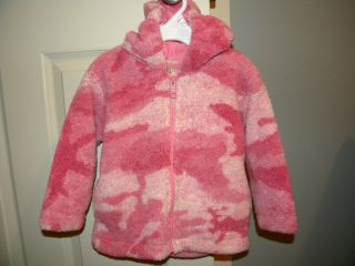 Cabelas toddler girls pink camo jacket