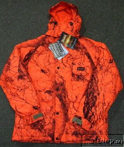 Gamehide 71A Blaze orange camo deer hunting parka coat NEW L