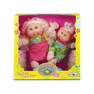 Cabbage Patch Kids Big Sister Little Sister Blonde Hair Dolls Hope