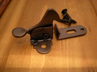 New Bronze Cabinet Door Catch Belwith