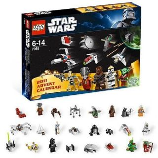 Lego Star Wars 2011 Advent Calendar Set 7958 Brand New in SEALED Box