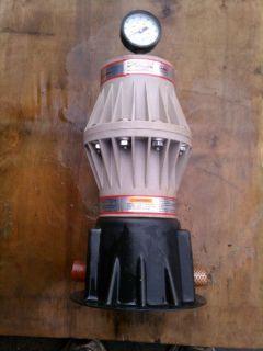 ARO Shock Blocker Diaphragm Pump Pulsation Dampener Model 667003 014