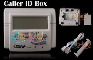 FSK DTMF Caller ID Box Cable Mobile Phone LCD Display