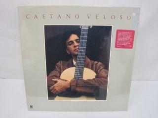 LP Vinyl Record Caetano Veloso Promo