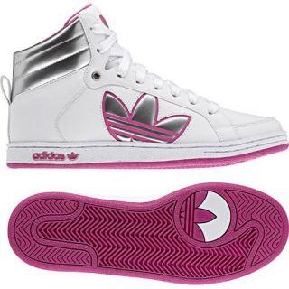 Adidas Campus Trefoil ST Mid W Wht Pink 2011 Originals Classic G51035