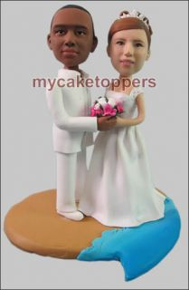 Personalized Custom Wedding Cake Topper Sculpture Gift
