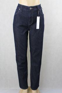 Calvin Klein Jeans Women Jeans Straight Leg Dark Wash Size 16W x 31
