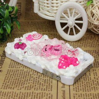 Creative Cake Rabbit Design Hard Case Cover for Apple iPhone 5 5g 5th