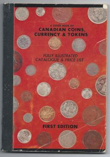 Guide Book of Canadian Coins Currency Tokens 1959