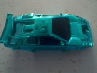 Tyco Lamborghini Slot Car Blue Body Only New No Box