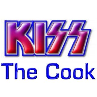 Kiss The Cook Rock Band Apron for Kiss Fans