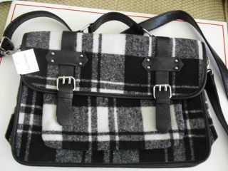 NWT CALL IT SPRING A DIVISION OF ALDO GROUP BLACK WHITE PLAID
