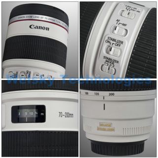 Canon EOS Camera Lens Mug Coffee Cup EF 70 200mm STAINLESS STEEL