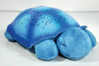 Cloud B Twilight Turtle Blue Night Light Stars Set New
