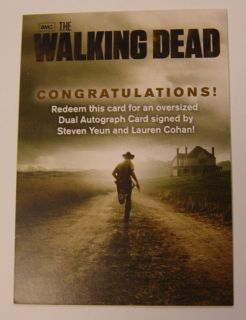 2012 Cryptozoic   AMC Walking Dead Season 2 TV Trading Cards