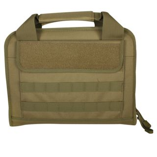 Fox Outdoor Dual Tactical Pistol Case Integrated Magazine Holders