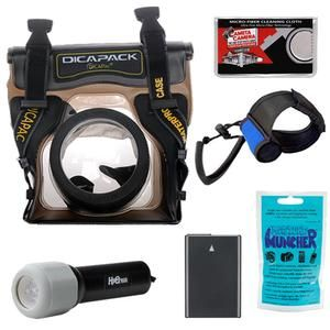 Underwater Waterproof Housing Case Nikon D3100 D3200 D5100 Digital SLR
