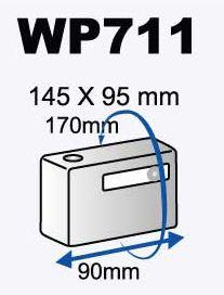 Dicapac WP 711 Waterproof case for Digital Camera