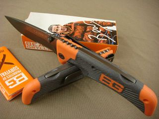 Gerber Bear Grylls Survival Camping Ultimate Tactical Folding Knife
