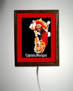 Captain Morgan Rum Pirate Costume Light Lighted Sign 1