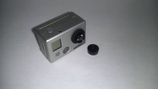 GOPRO HD HERO2 CAMERA W 8MM DUCK HUNTING GAME HUNTER NARROW ZOOM LENS