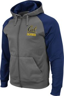 California Bears Navy Swif Full Zip Hooded Sweashir