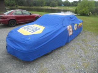 Waltrip Race Used 15 Napa Auto Parts Chevy Car Cover NASCAR