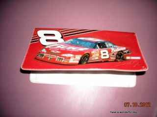 NASCAR Dale Earnhartd Jr Chevrolet Monte Carlo 8 Car Check Book Cover