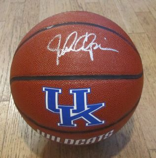 John Calipari Hand Signed Kentucky Wildcats Logo Basketball w COA