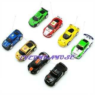 Partable Coke Can Mini RC Radio Remote Control Micro Racing Toy Car