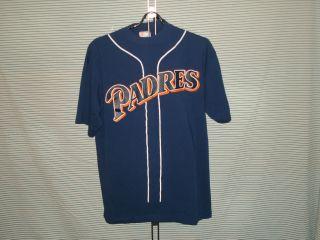 San Diego Padres Shirt Jersey Mens XL Ken Caminiti #21 RETRO Baseball