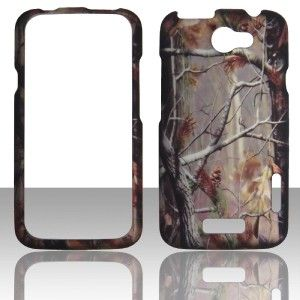 2D Camo Flag Stem Dg HTC One X AT&T Case Hard Snap on Cover Cases