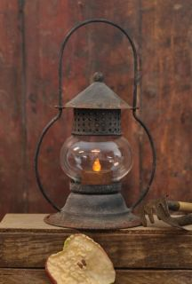 Primitive Tealight Lantern Candle Holder ~ Country Home Decor