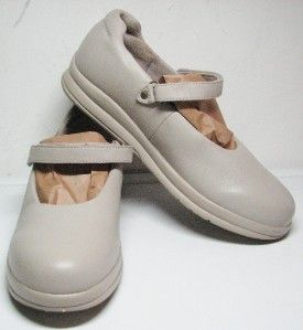 Womens Leather P w Minor Canfield Clay Mary Jane 9 5 M