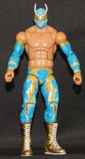 Sin Cara Gold Version WWE Elite 15 Mattel Toy Wrestling Action Figure