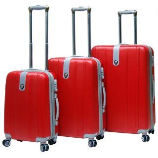 CalPak Sparta Expandable Hardsided Luggage Set Red from Brookstone