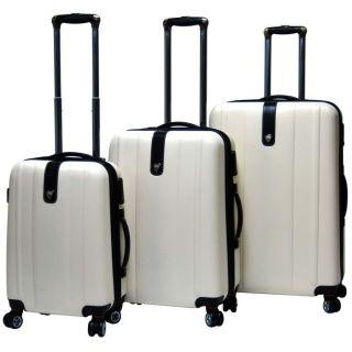 CalPak Sparta Expandable Hardsided Luggage Set Milky from Brookstone