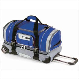CalPak Nitro 32 Deluxe Rolling Duffel Bag Navy Blue ADF3032 Blue
