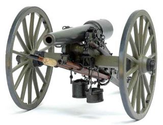 Parrott Cannon Civil War Kit Model Shipways Marine New
