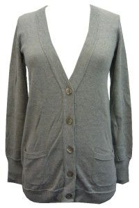 calvin klein jeans gray cardigan sweater size xl