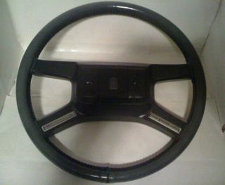 84 85 86 87 88 89 Lincoln Town Car Steering Wheel Leather Clean