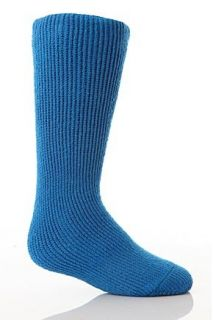 Kids 1 Pair SockShop Heat Holders Long 2.3 Tog Thermal Socks In 9