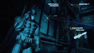Investigative gameplay in Batman Arkham Citys Dectective Mode