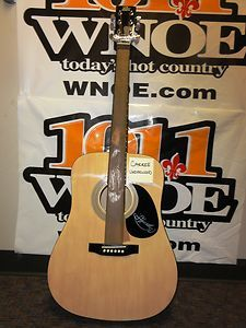 Acoustic Guitar Autographed by Carrie Underwood