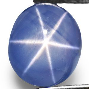 98 Carat Remarkable Deep Blue Star Sapphire from Mogok