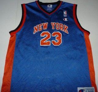 Vintage Champion Marcus Camby New York Knicks NBA Basketball Youth