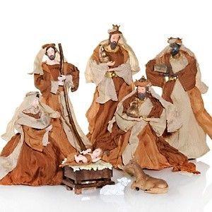 Mariah Carey 8 piece Nativity Set Christmas NEW