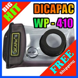 DiCAPac WP 410 Digital Camera Waterproof Housing Underwater Soft Case