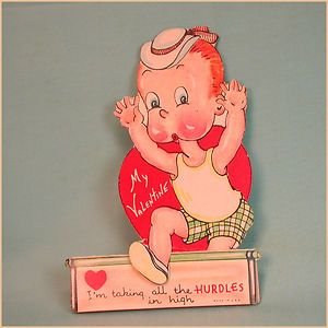 Vintage Valentines Day Card Henry Carl Anderson 1930s